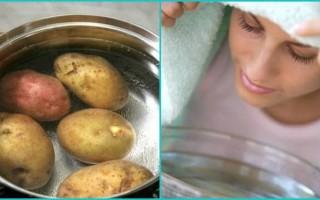 Как правильно дышать над картошкой?