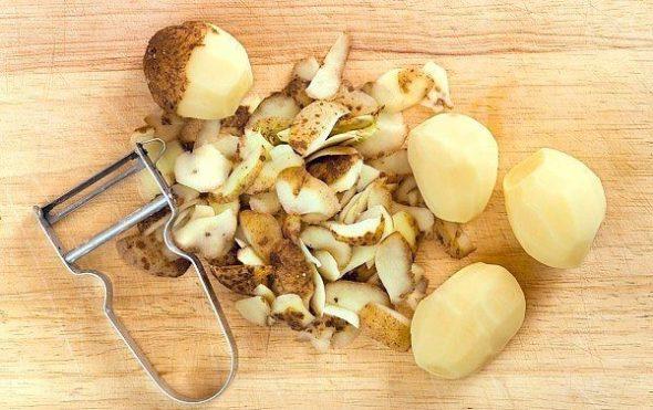 Кожура от картофеля для ингаляций