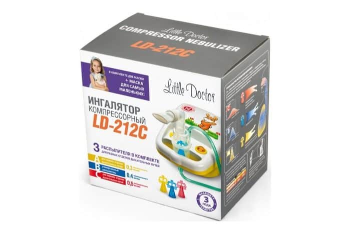 Небулайзер little doctor ld 212c