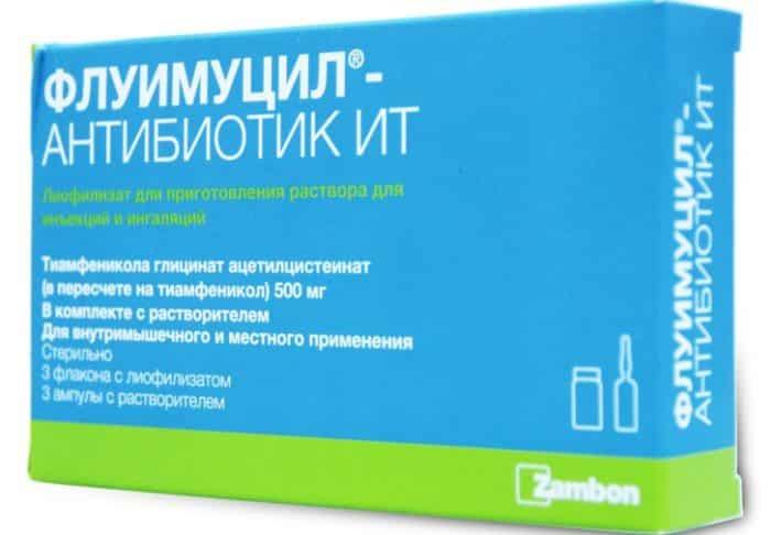 Флуифорт антибиотик для ингаляций