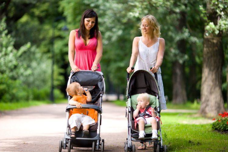 гулять с ребенком