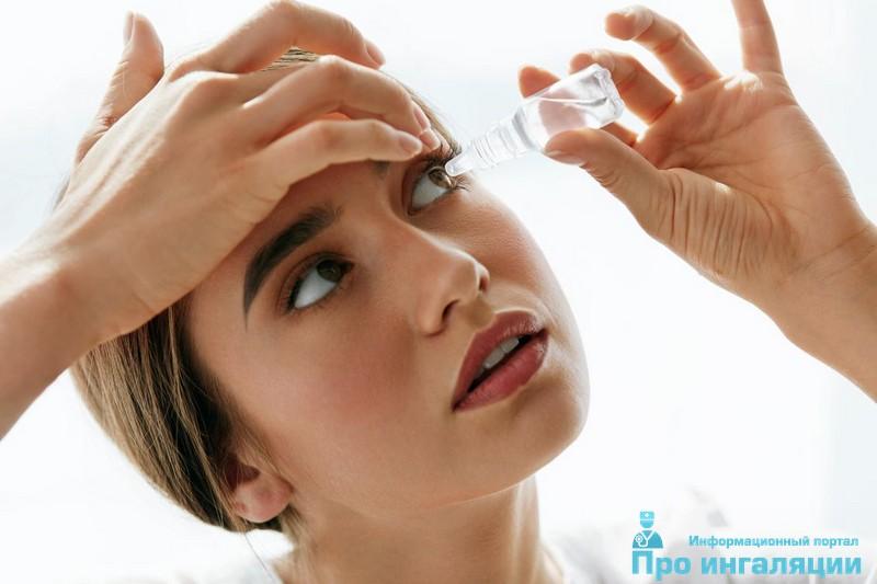 капли для глаз при аллергии на цветение